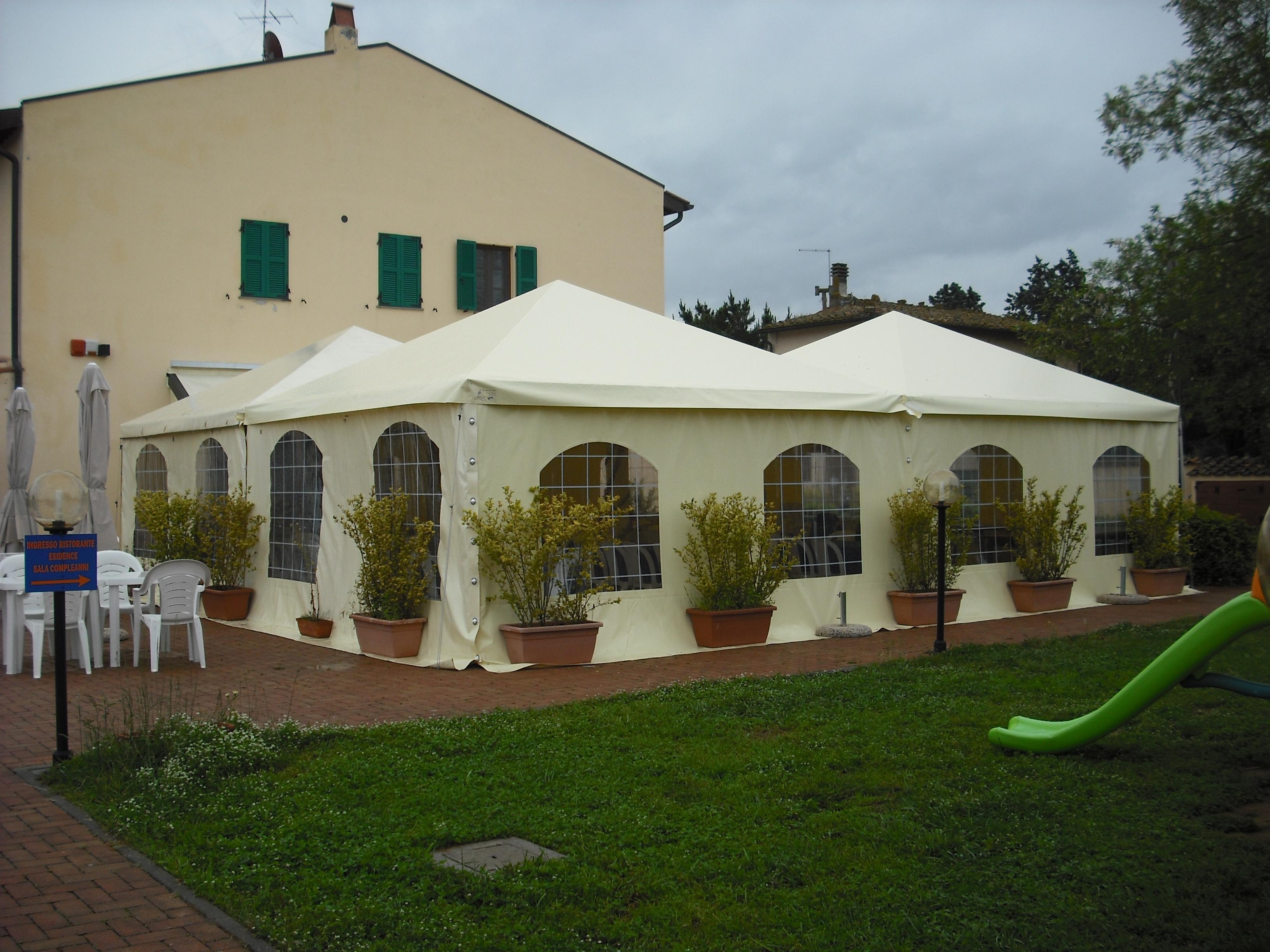 Gazebo 5x5 ristorante