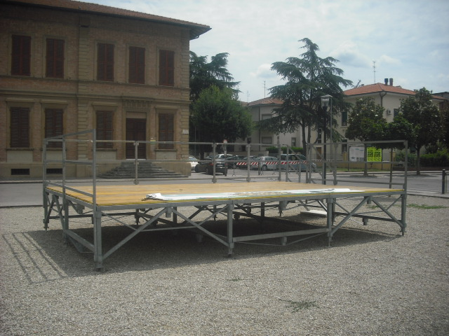 Palco in piazza